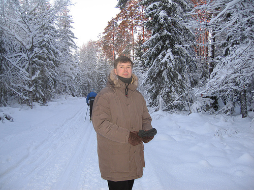 Ián Anglatzarâ at home in Sweden in January 2006