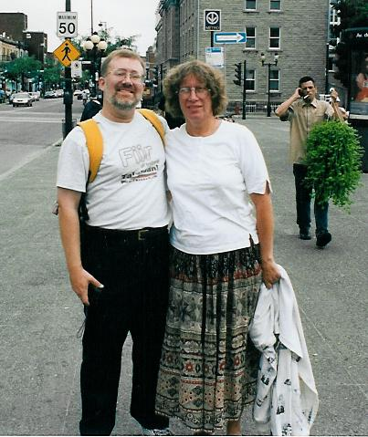 Ben Madison & Amy Durnford - Montreal, Quebec - August 2003