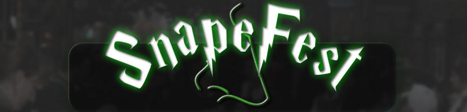 SnapeFest banner